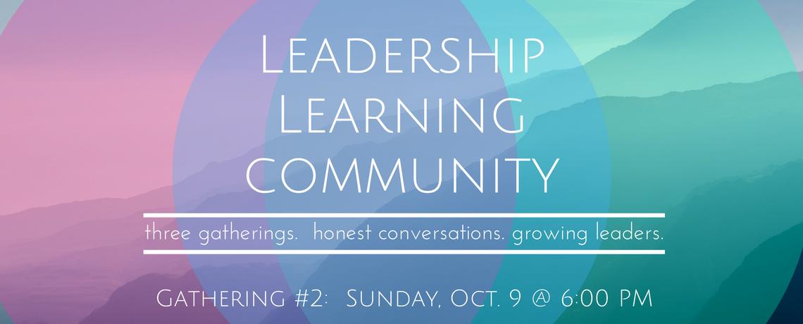 Leadership Learning Community