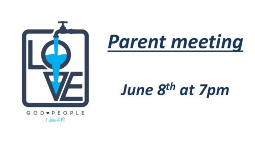 Youth Group Parent's Meeting — Together In Christ, Making
