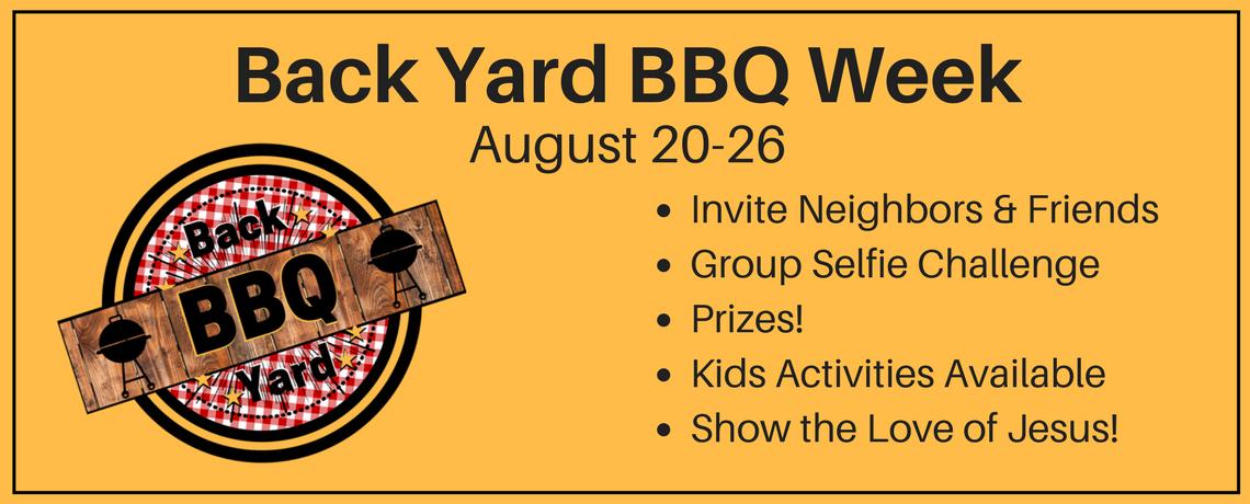 Back Yard BBQ Week