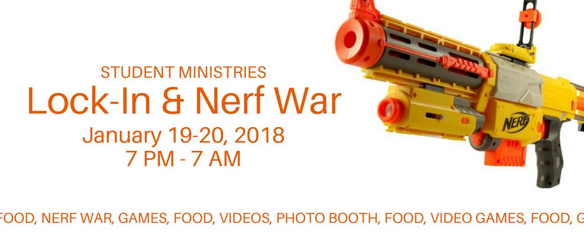 Lock-In & Nerf War