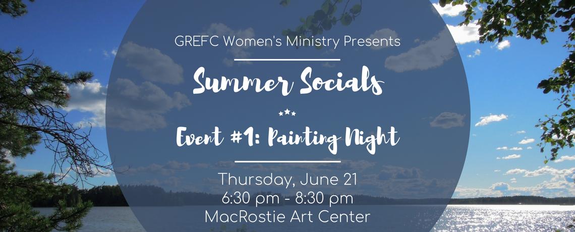 Women's Summer Social: Painting Night