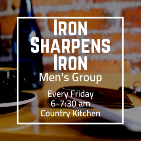 Iron Sharpens Iron Men\'s Group — Together In Christ, Making ...