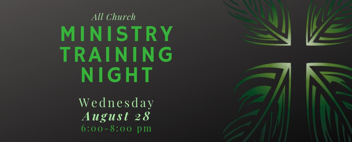 Ministry Training Night